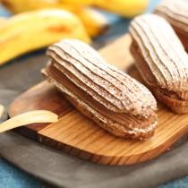 【幸福烘焙】巧克力香蕉泡芙